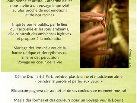 Concert méditatif avec Céline Dro, l'Art à Part
