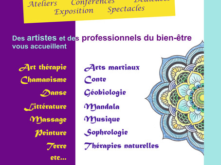 """Salon """"A la rencontre des arts et du bien-être"""""""