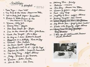 Nostalgia: a playlist | Cecilia V. Weng Song