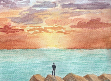 Watercolour by Eira Engedal