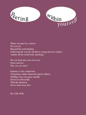 Peering Within Yourself