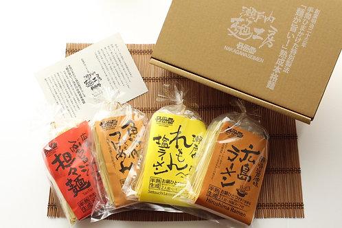 ふ8)冬のあったか麺セット【4袋8人前】