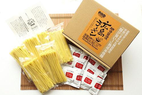 広島ラーメンとんこつしょう油味【6人前・スープ付き】