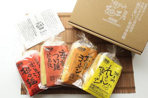 ひ8)広島みやげ中華麺セット【4袋8人前】