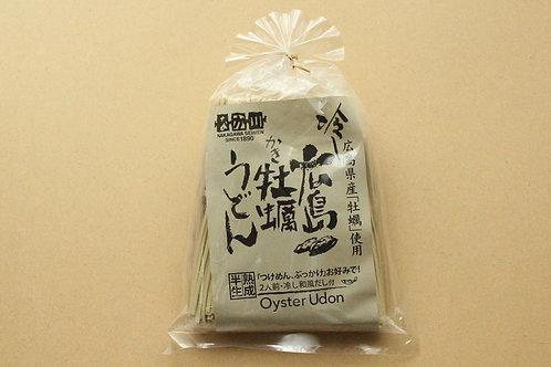 冷)広島県産牡蠣うどん【2人前・いりこ和風だし付き】