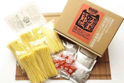 広島の陣鬼辛ラーメン【6人前・スープ・赤唐辛子付き】