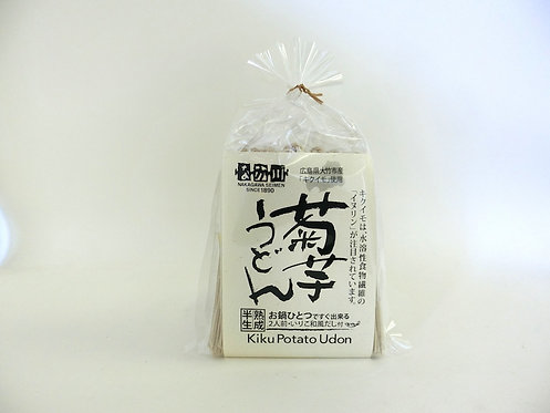 温)広島県産菊芋うどん【2人前・いりこ和風だし付き】