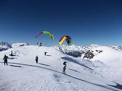 Moléson Charmey hike and fly Vol en parapente biplcace en hiver en Gruyère Moléson suisse romande Vol biplace a ski moléson charmey