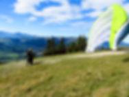 Marche et vol en parapente gruyère Charmey Moléson Guide suisse