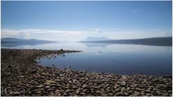 Lac Teslin au Yukon