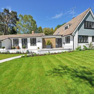 photo d'architecture d'une maison à vendre
