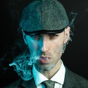 portrait homme cigarette