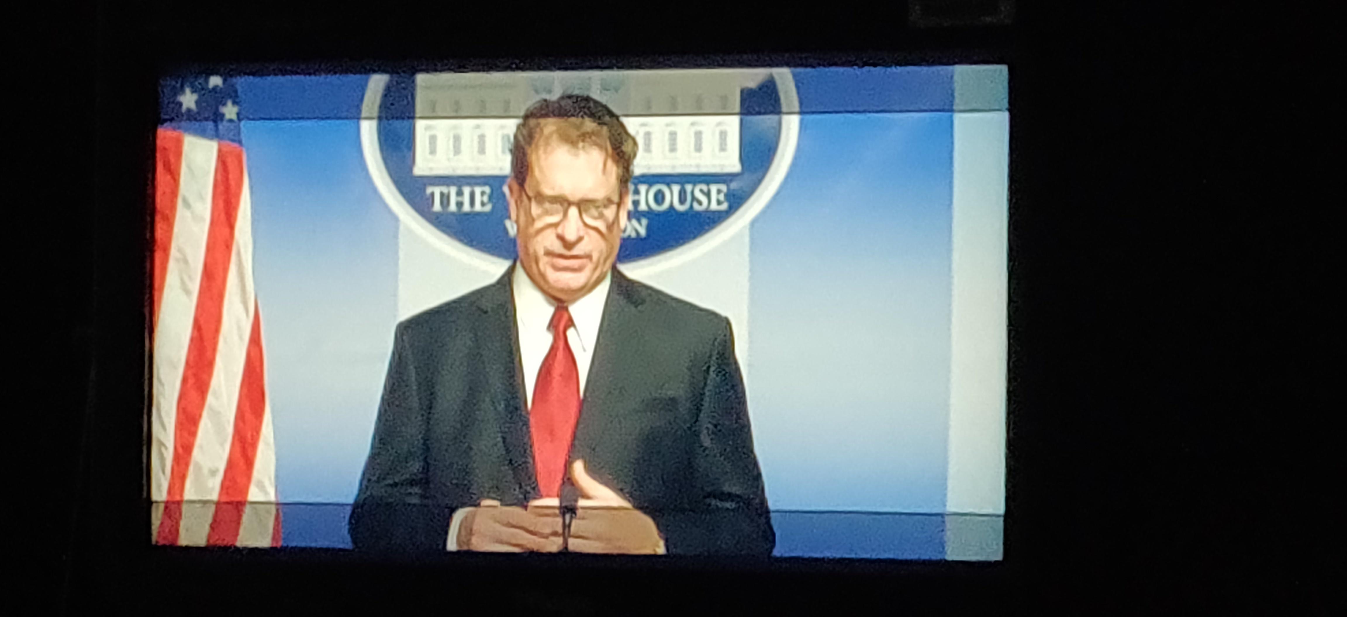 White house press briefing set