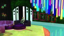 Elton John's Talk Show Set