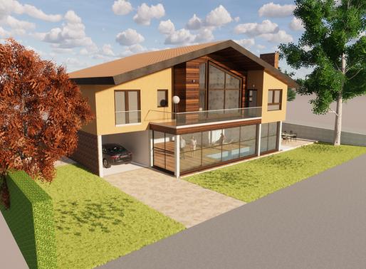 Nueva vivienda passivhaus en Segovia