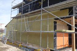 colocación aislamiento fachada