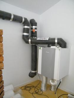 recuperador de calor ventilación