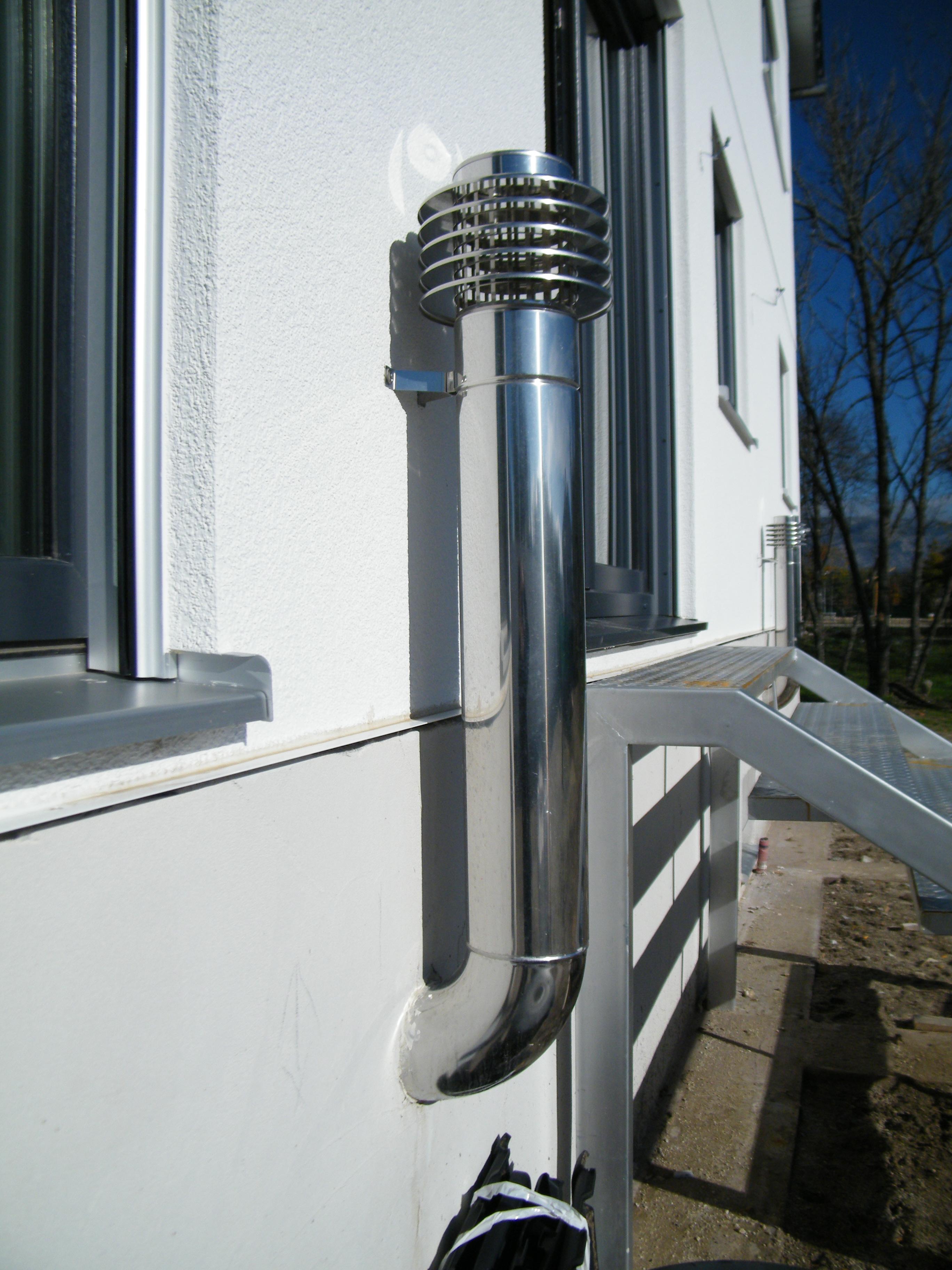 toma de ventilación exterior