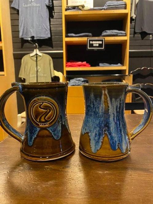 Hand-made handle mug