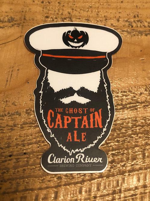 """Ghost of Captain a""""L""""e Sticker"""