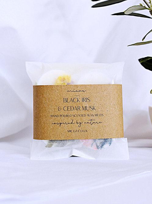 Black Iris & Cedar Musk Wax Melt