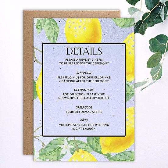 Lemon Information