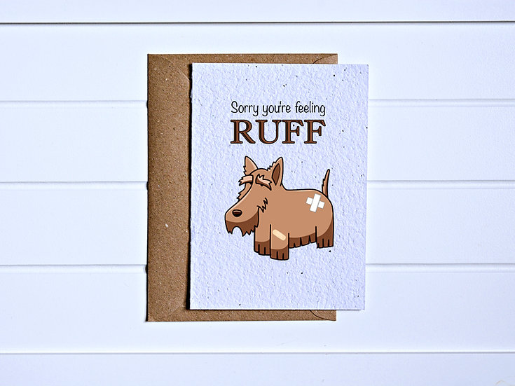 Feeling ruff Card