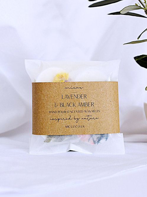 Lavender & Black Amber Wax Melt