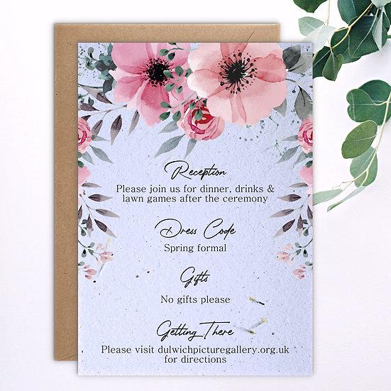 Floral Information