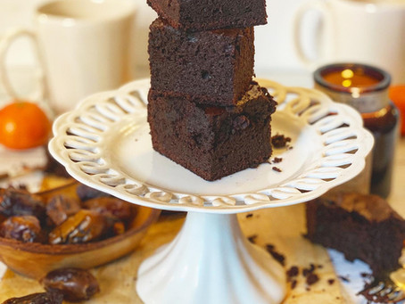 PRACTICALLY MAGIC GOOEY CHOCOLATE DATE CAKE