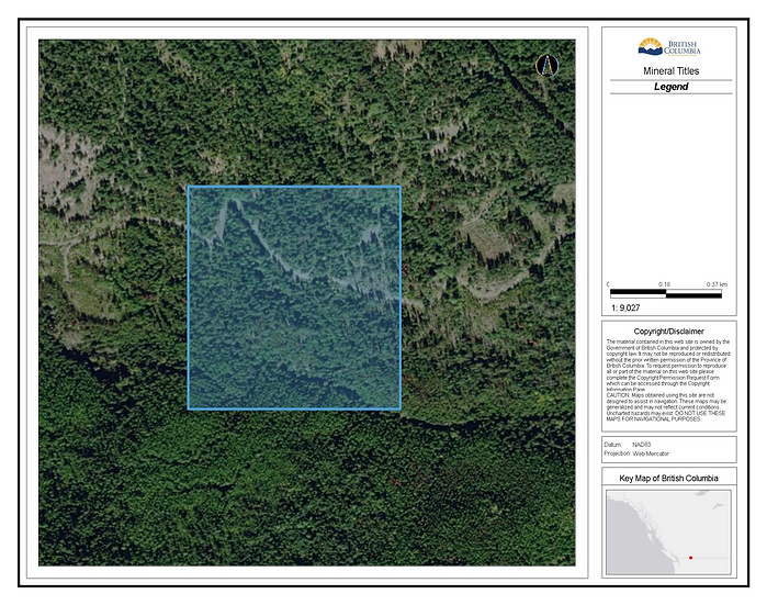 Skeff Creek, Greenwood, B.C. / 52.31 acres