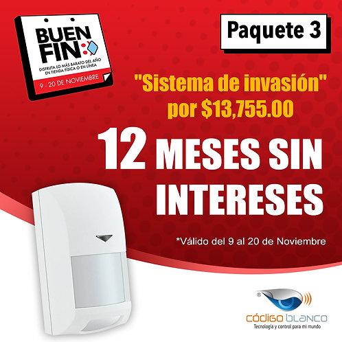 Sistema de intrusión MINI básico Interactivo