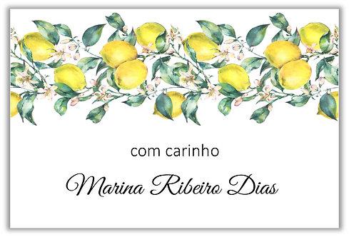 Etiqueta Adesiva Lemon