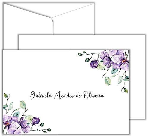 Cartão Social Orchid II