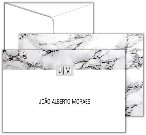 Cartão Social Basic Marble