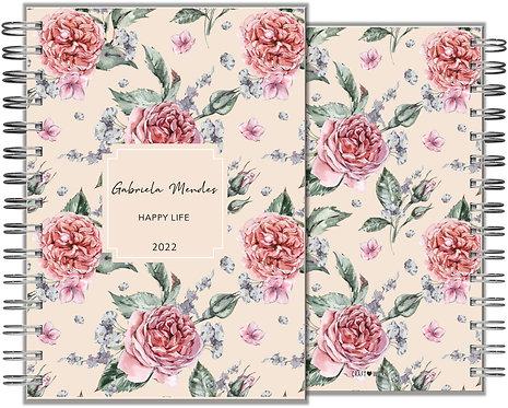 Agenda Romantic Rose