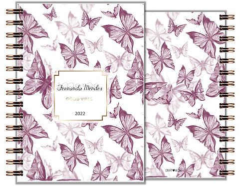 Agenda Purple Butterfly