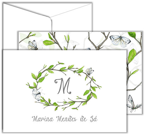 Cartão Social Branches Green