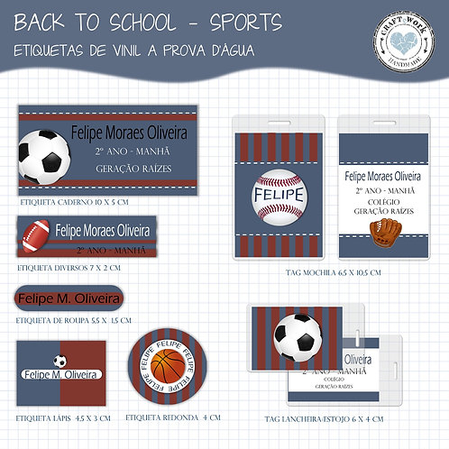 Back to School -Sports