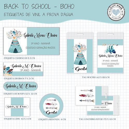 Back to School - BOHO
