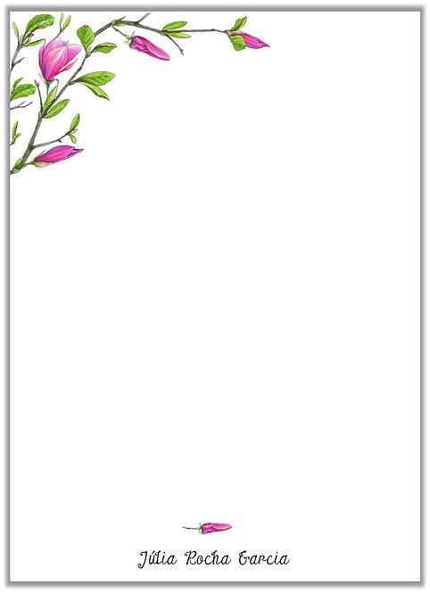 Papel de Carta Branches Green II