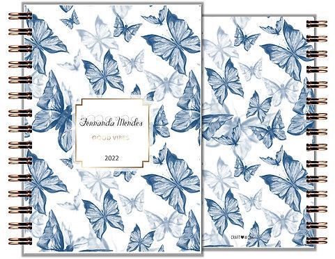 Agenda Blue Butterfly