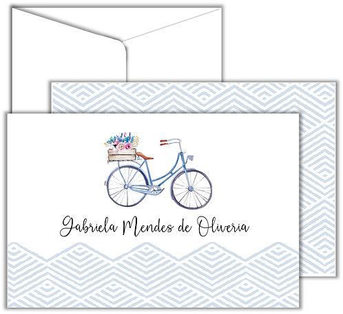 Cartão Social Coleção Hobbies Bike