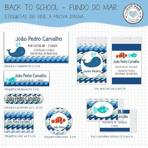 Back to School - FUNDO DO MAR