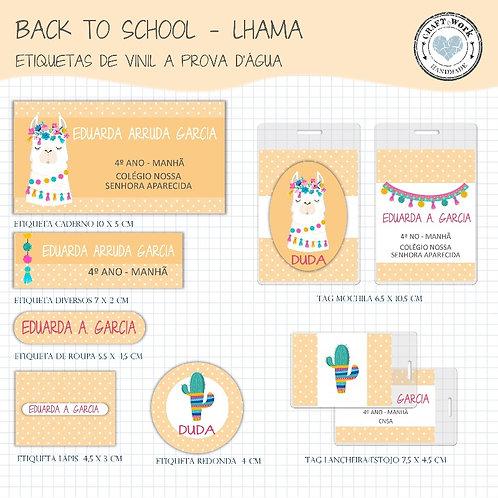 Back to School - LHAMA ORANGE