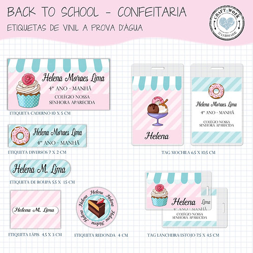 Back to School - CONFEITARIA