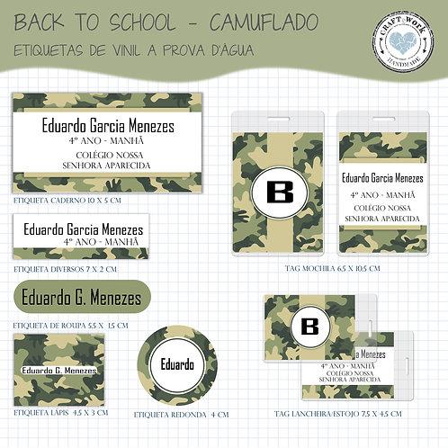 Back to School -CAMUFLADO