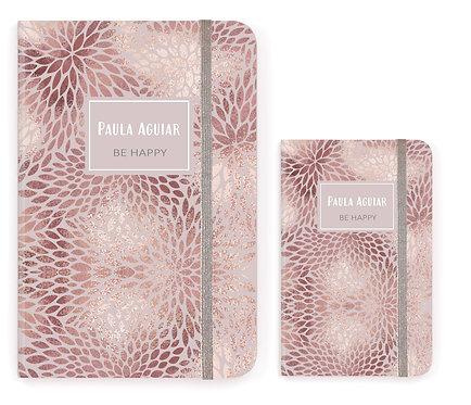 Caderno Rose Gold Texture