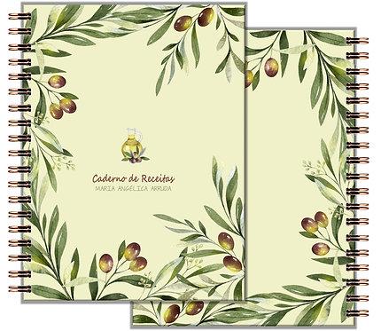 Caderno Receitas Olive