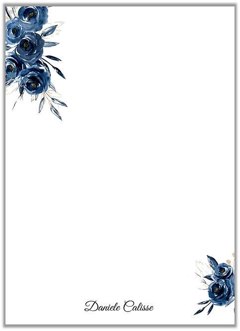 Papel de Carta Marine Flower